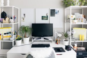 use vertical storage to maximize your office space